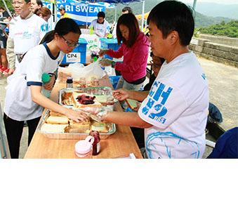 贊助苗圃挑戰12小時慈善馬拉松